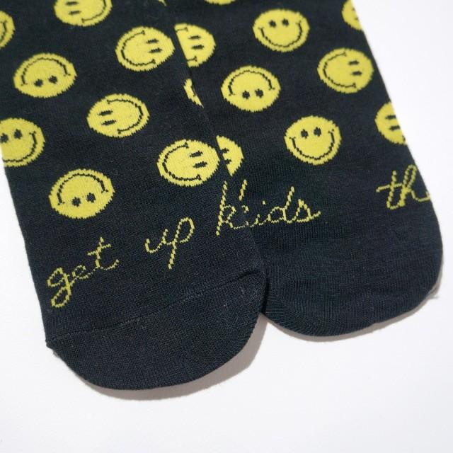 The Get Up Kids(ゲット・アップ・キッズ) ソックス Smiley Socks