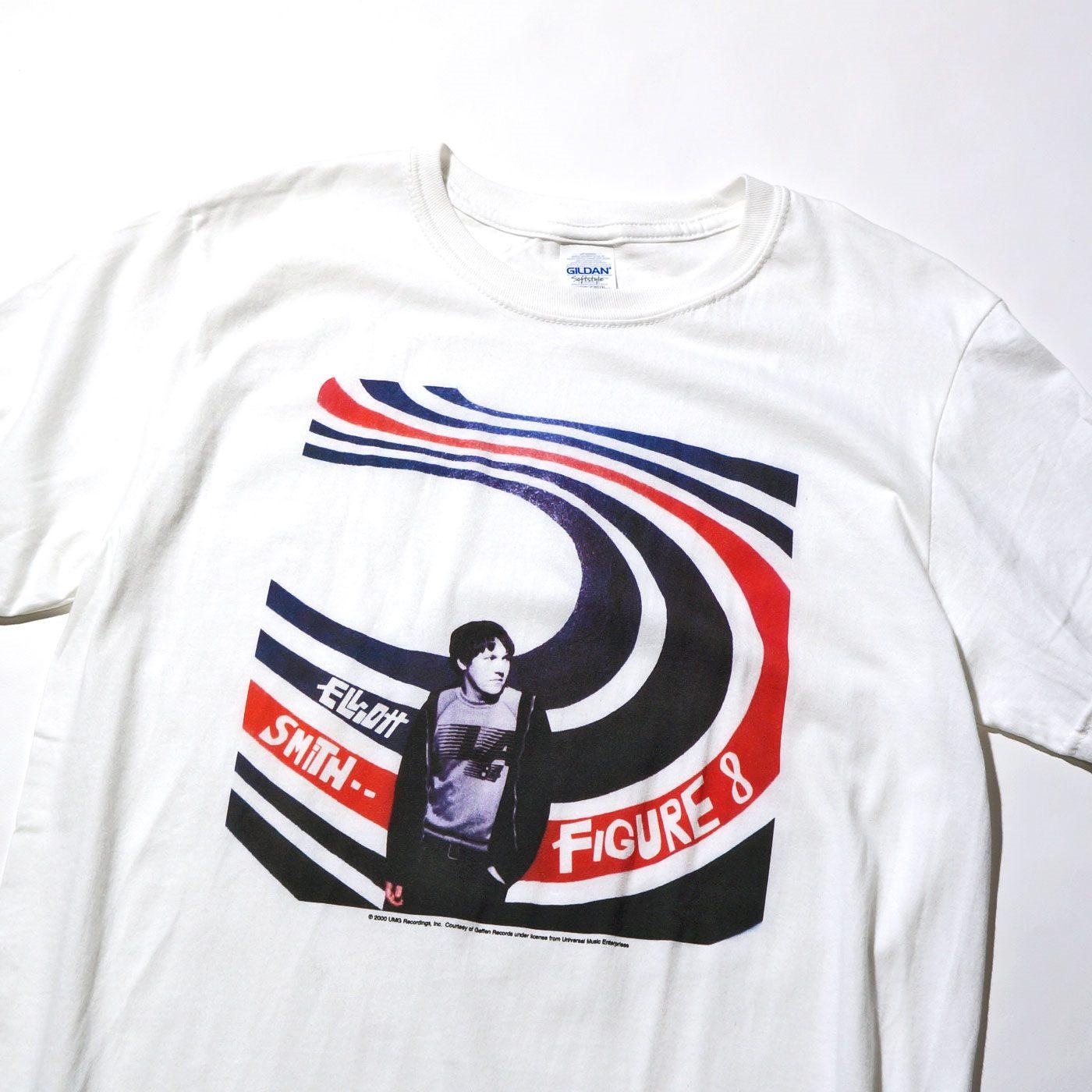 Elliott Smith Tシャツ Figure 8-White