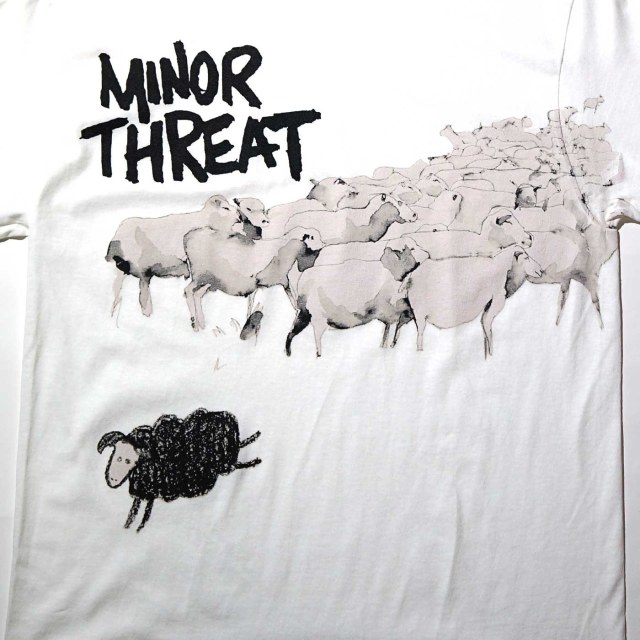 MINOR THREAT Tシャツ Out Of Step-White