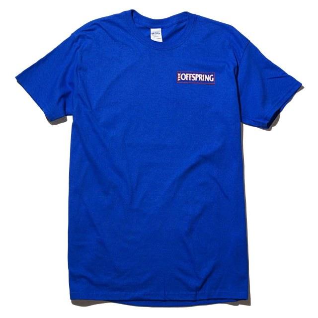 OFFSPRING オフスプリング Tシャツ White Guy-Blue