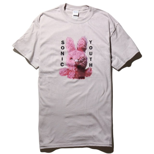 Sonic Youth Tシャツ Dirty Bunny - Gray