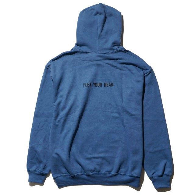 Dischord Records パーカー Box Logo - Indigo Blue