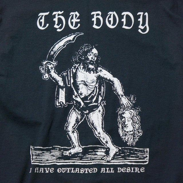 THE BODY バンド Tシャツ Outlast Desire-Black