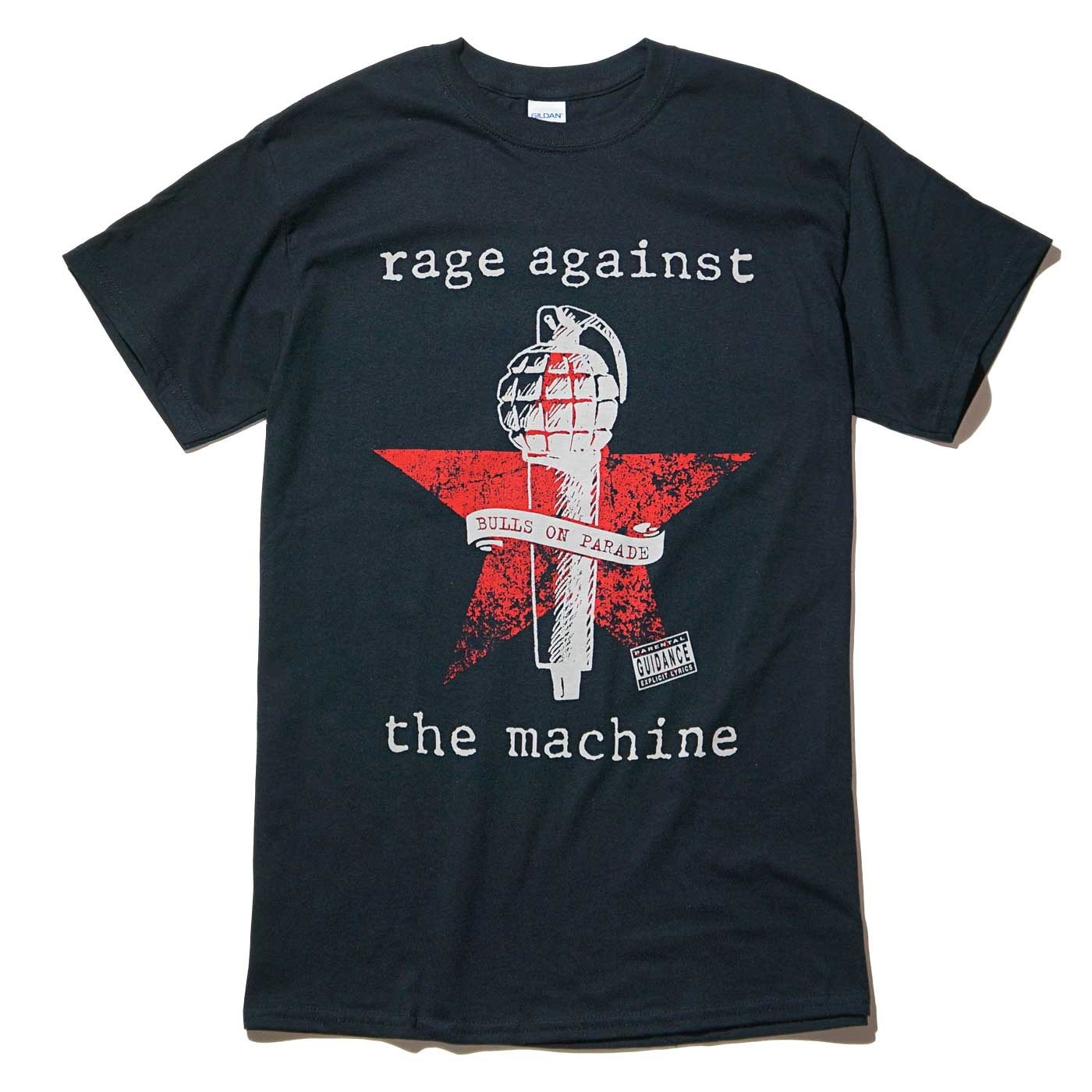 RAGE AGAINST THE MACHINE Tシャツ Bulls on Parade Mic-Black