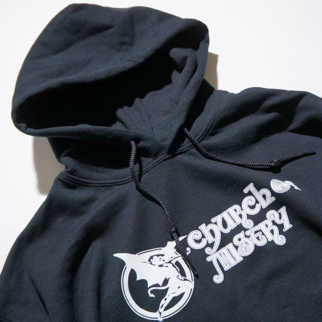 Church Of Misery (チャーチ・オブ・ミザリー) パーカー/Logo- Black
