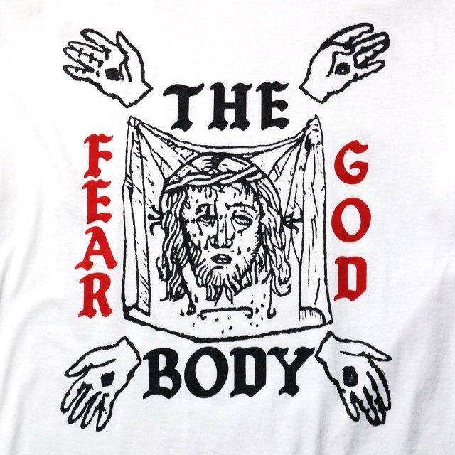 THE BODY バンド Tシャツ Fear God-White