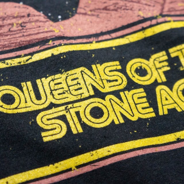 QUEENS OF THE STONE AGE Tシャツ Canyon-Black
