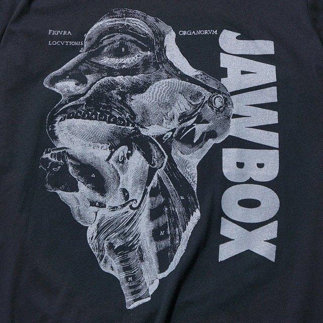 JAWBOX(ジョーボックス) Tシャツ Anatomy-Black