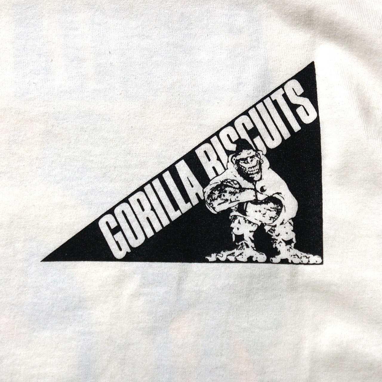 GORILLA BISCUITS Tシャツ Jungle-White