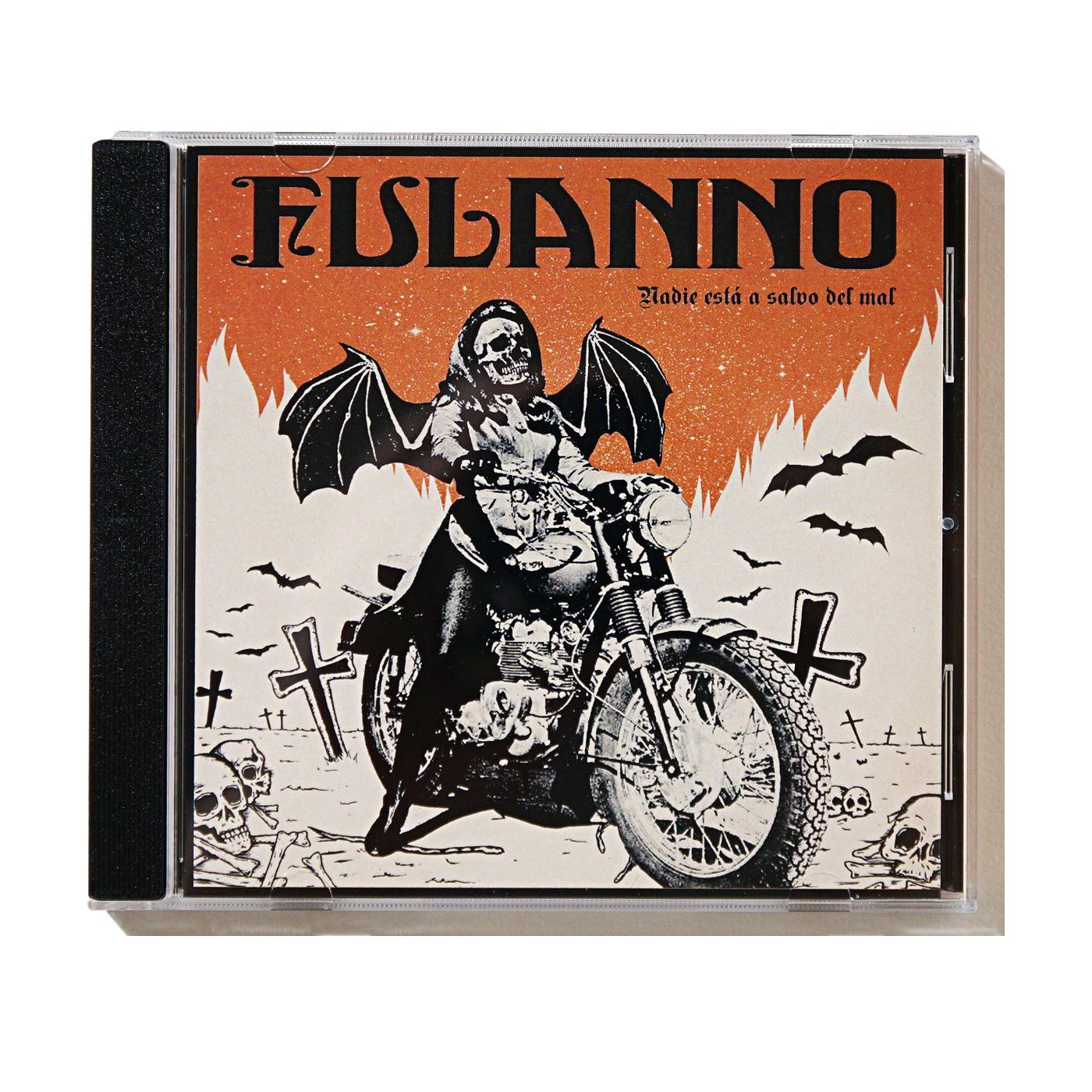 FULANNO - Nadie Esta A Salvo Del Mal (CD Ltd.200)