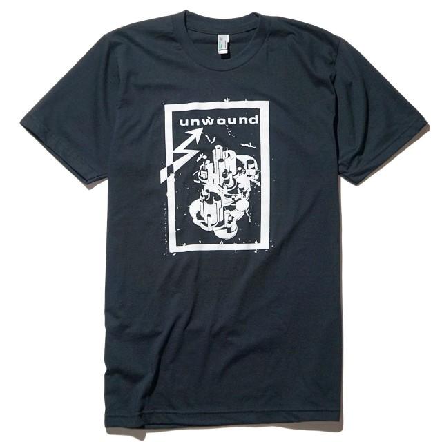UNWOUND(アンワウンド) Tシャツ The Future of What-Black