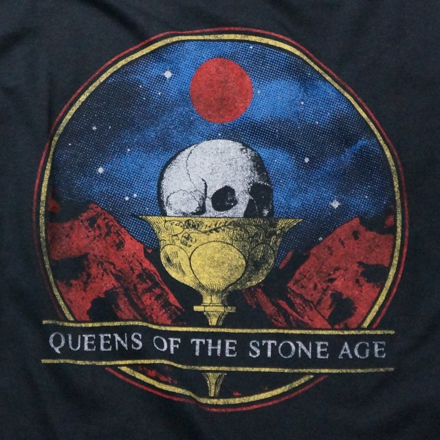 QUEENS OF THE STONE AGE Tシャツ CHALICE-Black