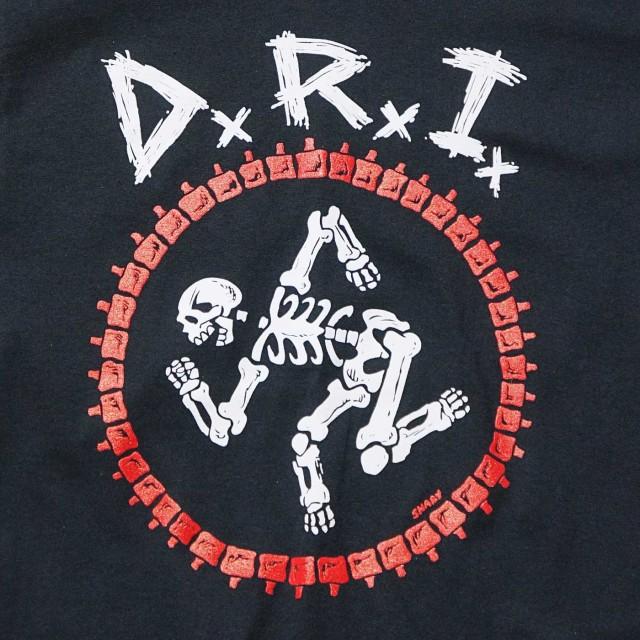 D.R.I. Tシャツ Burly Obsession-Black
