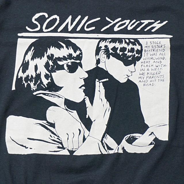 SONIC YOUTH Tシャツ Goo - Black
