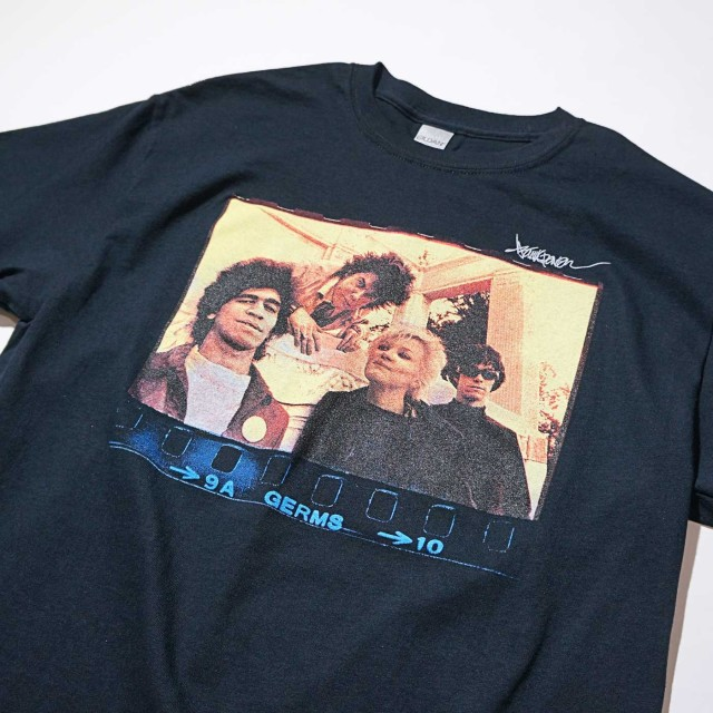 GERMS Tシャツ Hollywood Forever-Black
