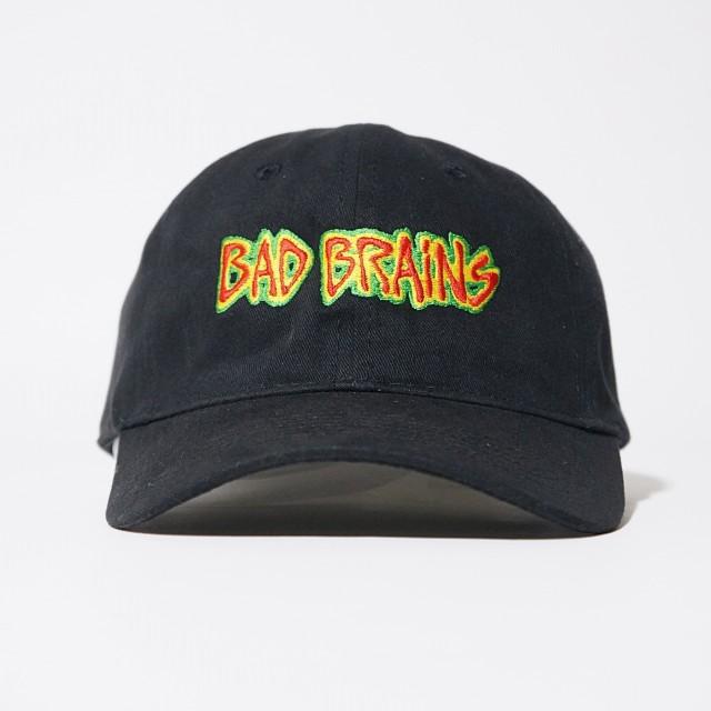 BAD BRAINS キャップ Logo ダッドハット-Black