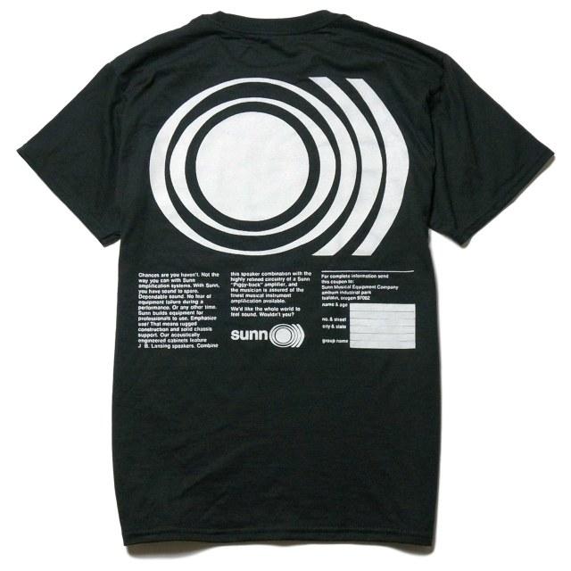 SUNN O))) Tシャツ ever breathe a frequency?/MILO-Blk