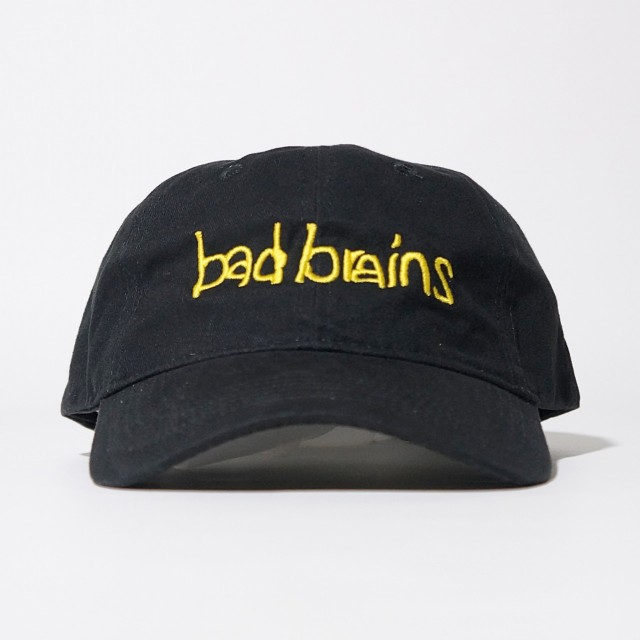 BAD BRAINS キャップ Yellow Logo-Black