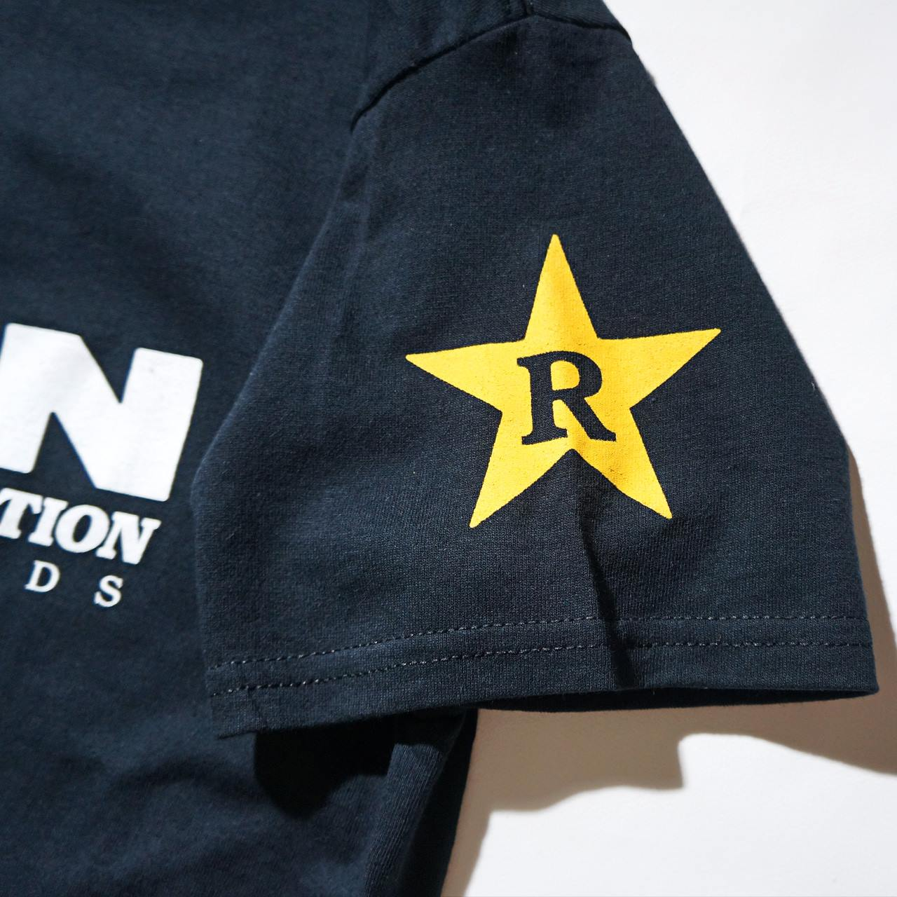 DRAIN Tシャツ Rev Logo-Black
