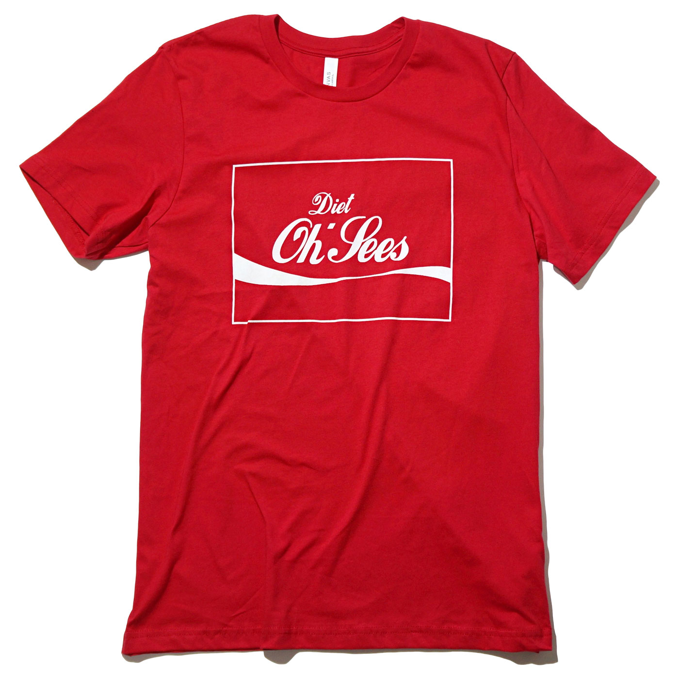 Oh Sees Tシャツ Red Diet Oh Sees tee