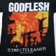 GODFLESH Tシャツ/Streetcleaner - Black