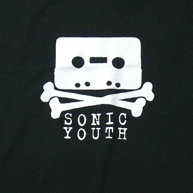 SONIC YOUTH Tシャツ Taping -Black