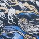 ACID KING アシッド・キング Tシャツ Blue Biker Wizard-Black