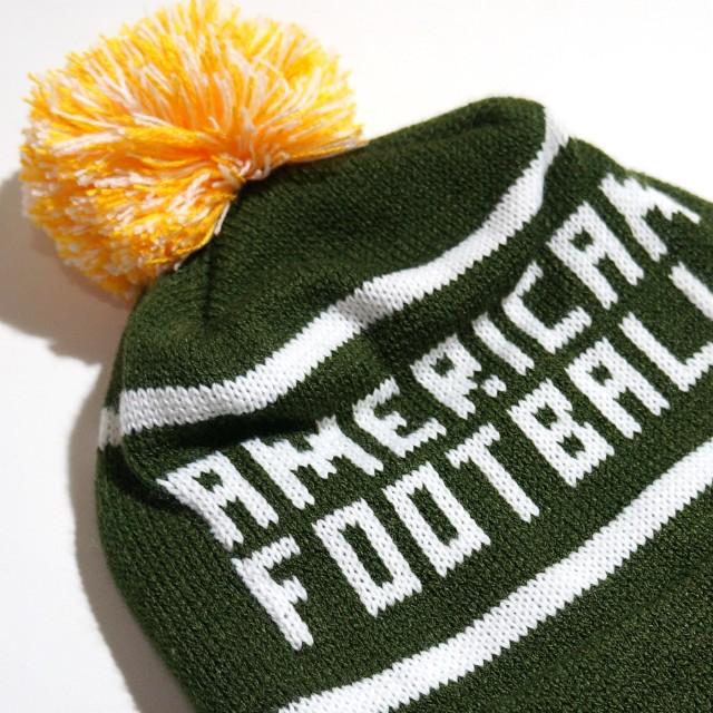 AMERICAN FOOTBALL ビーニー ニットキャップ Knit Hat