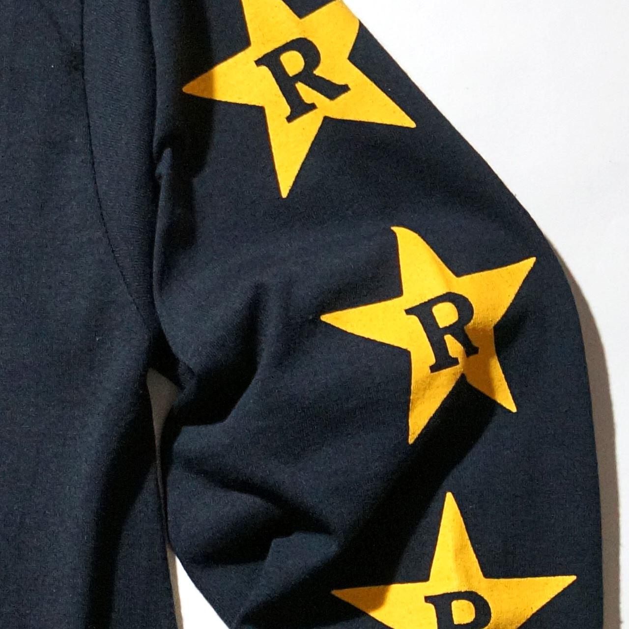 DRAIN ロングスリーブTシャツ Rev Logo-Black
