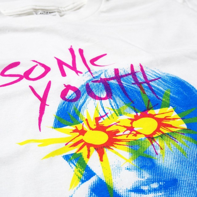 Sonic Youth Tシャツ Sunburst -White