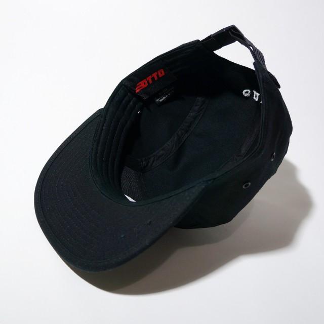 envy バンド キャップ Embroidered Hat-Black