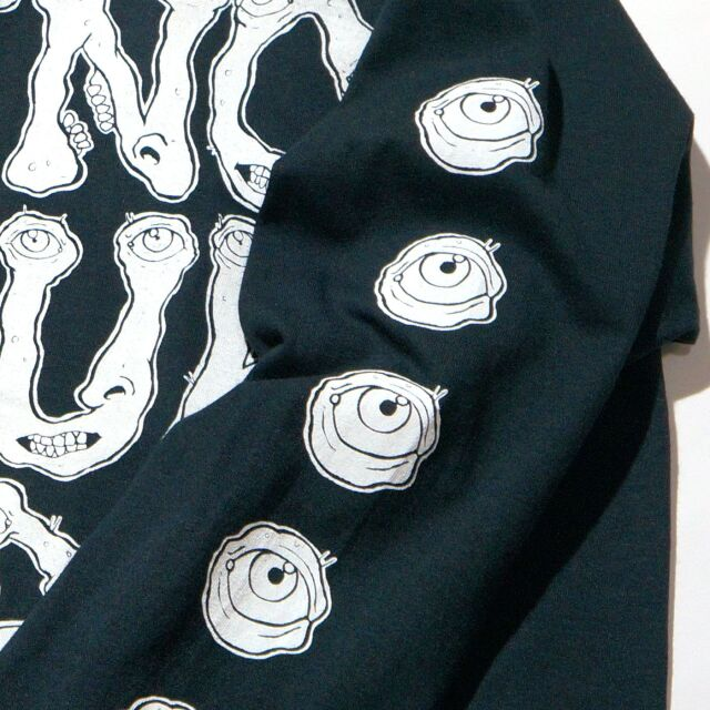 Dinosaur Jr. (ダイナソーJr) ロングスリーブTシャツ Eyeball-Black