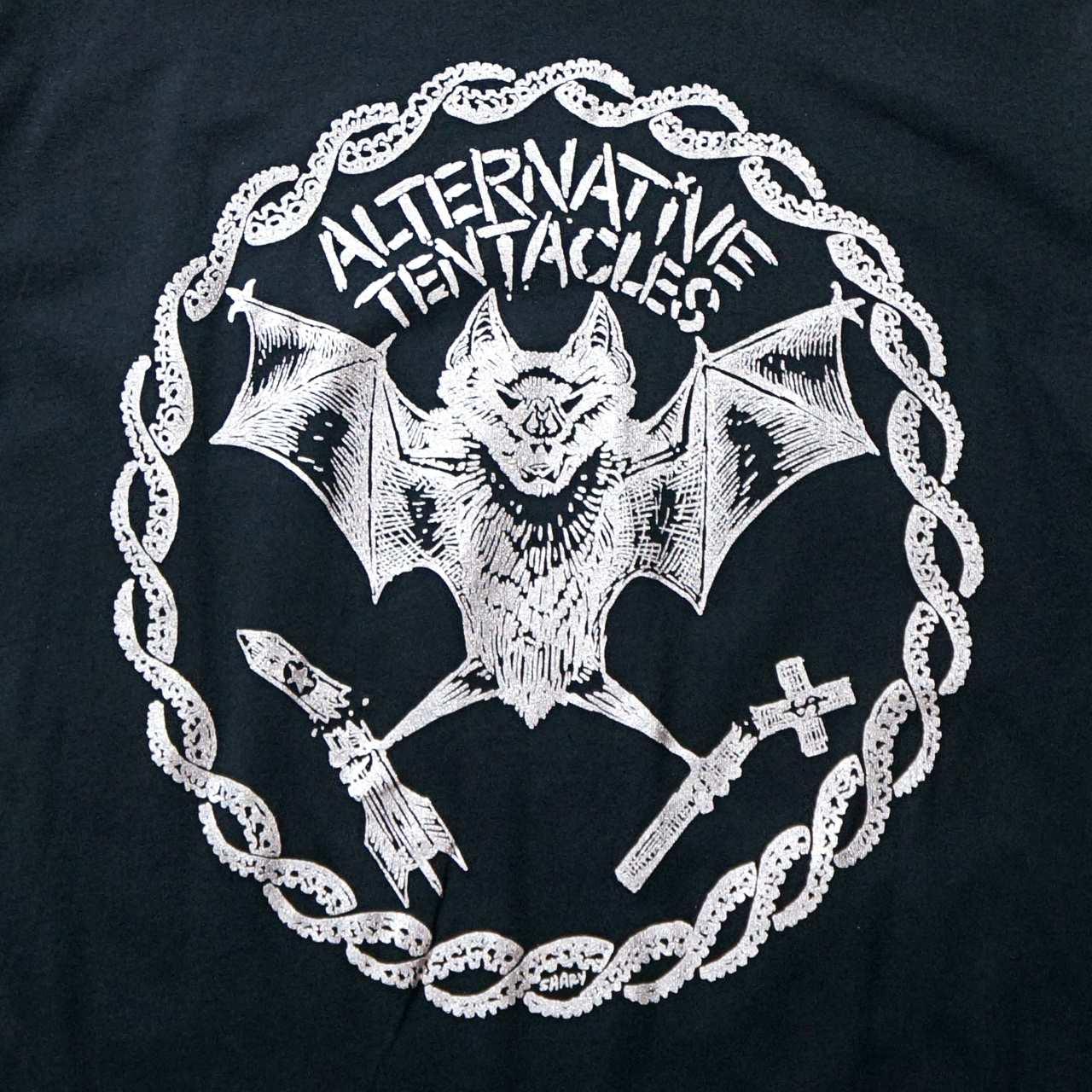ALTERNATIVE TENTACLES Tシャツ Sharpie Redux Silver-Black