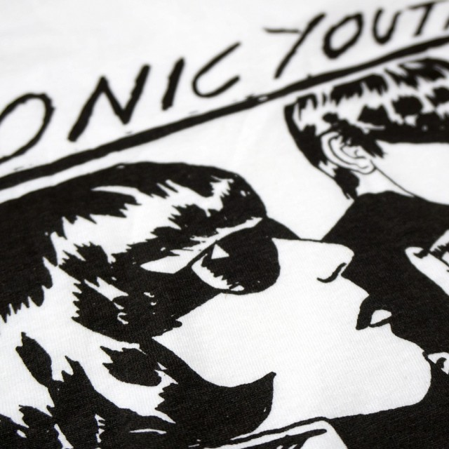 Sonic Youth Tシャツ Goo - White