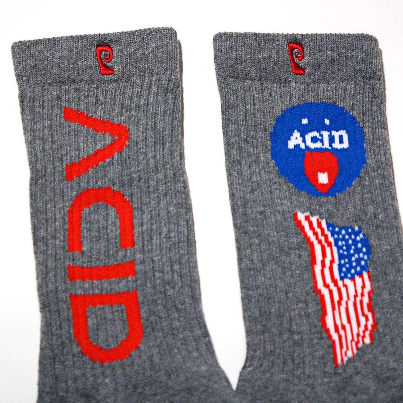 PSOCKADELIC ソッケデリック ソックス Acid-Grey
