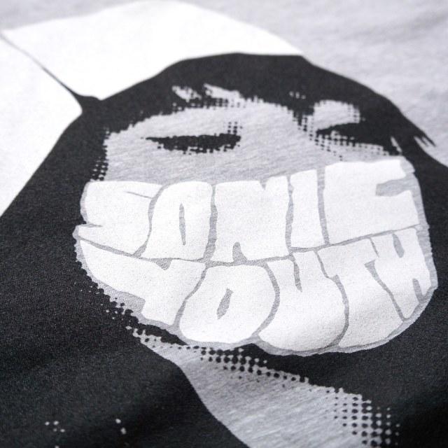 SONIC YOUTH Tシャツ Nurse -Grey