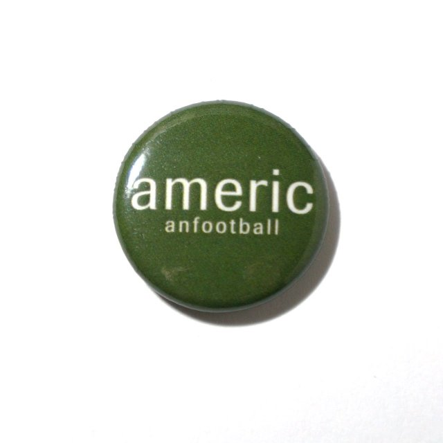 American Football 缶バッジ Button