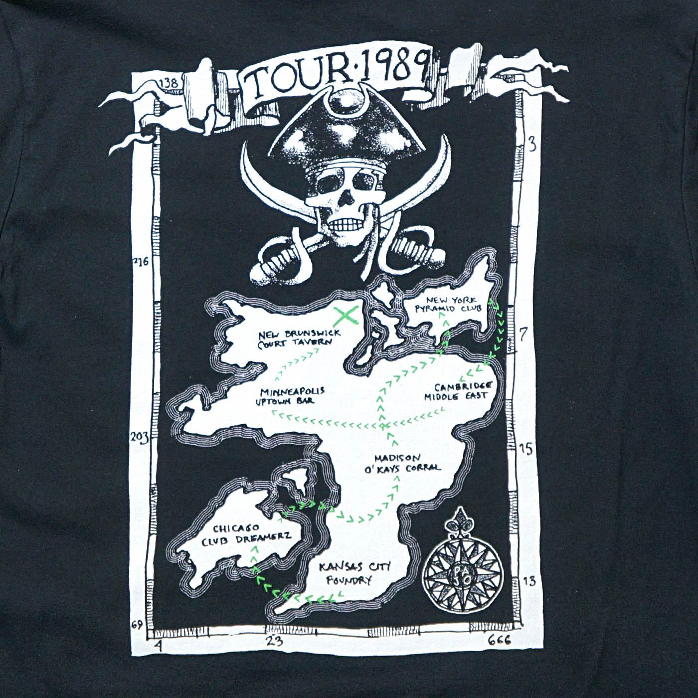 SLINT Tシャツ Pirates 1989-Black