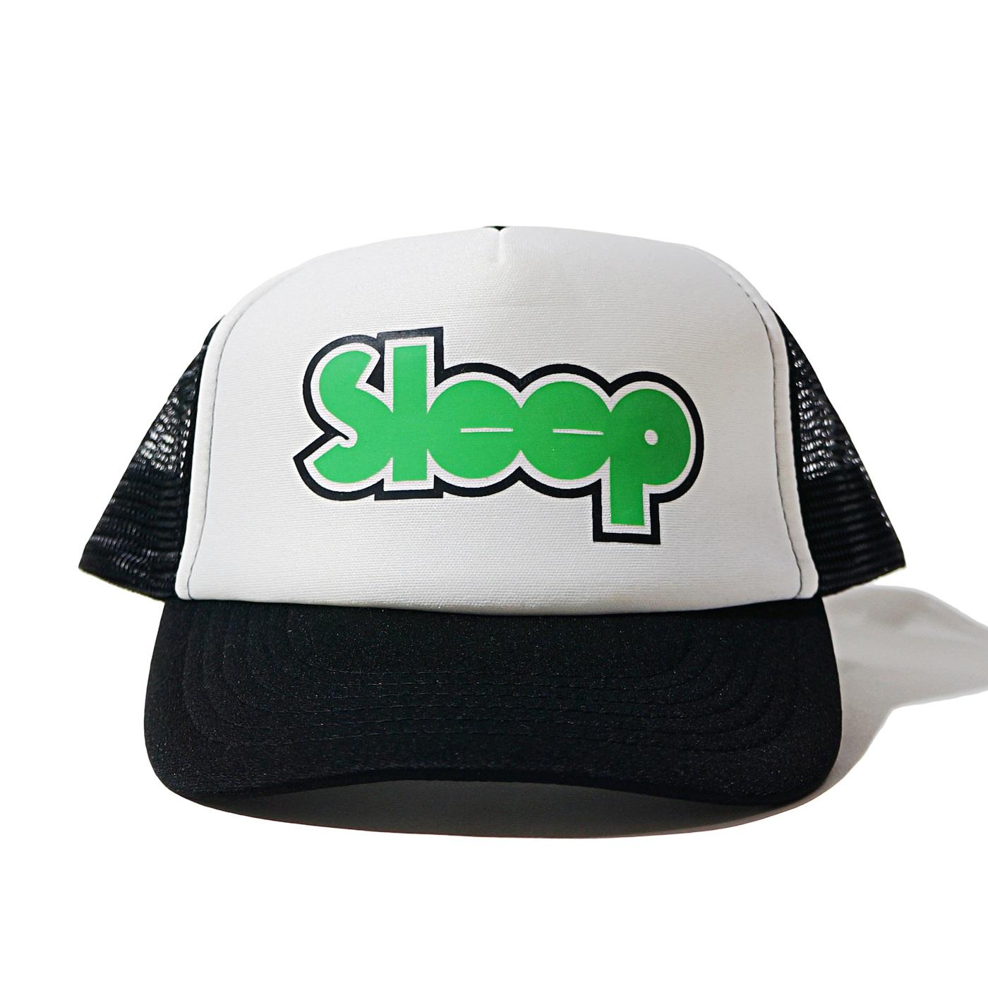 SLEEP メッシュキャップ Logo-Black