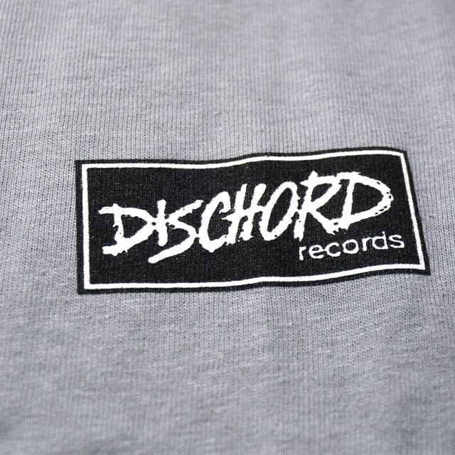 Dischord Records Tシャツ / Box Logo - Gravel
