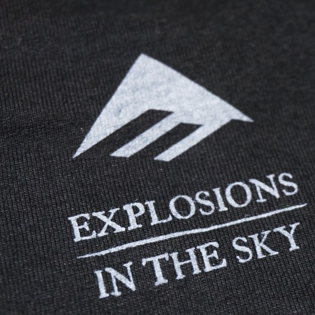 EMERICA x Explosions in the Sky Tシャツ Explosions Amp - Black