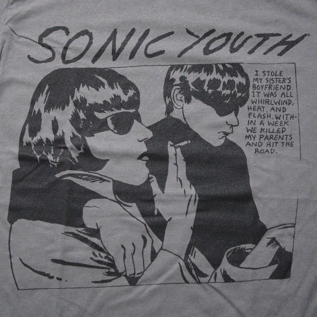 SONIC YOUTH Tシャツ Goo - Charcoal