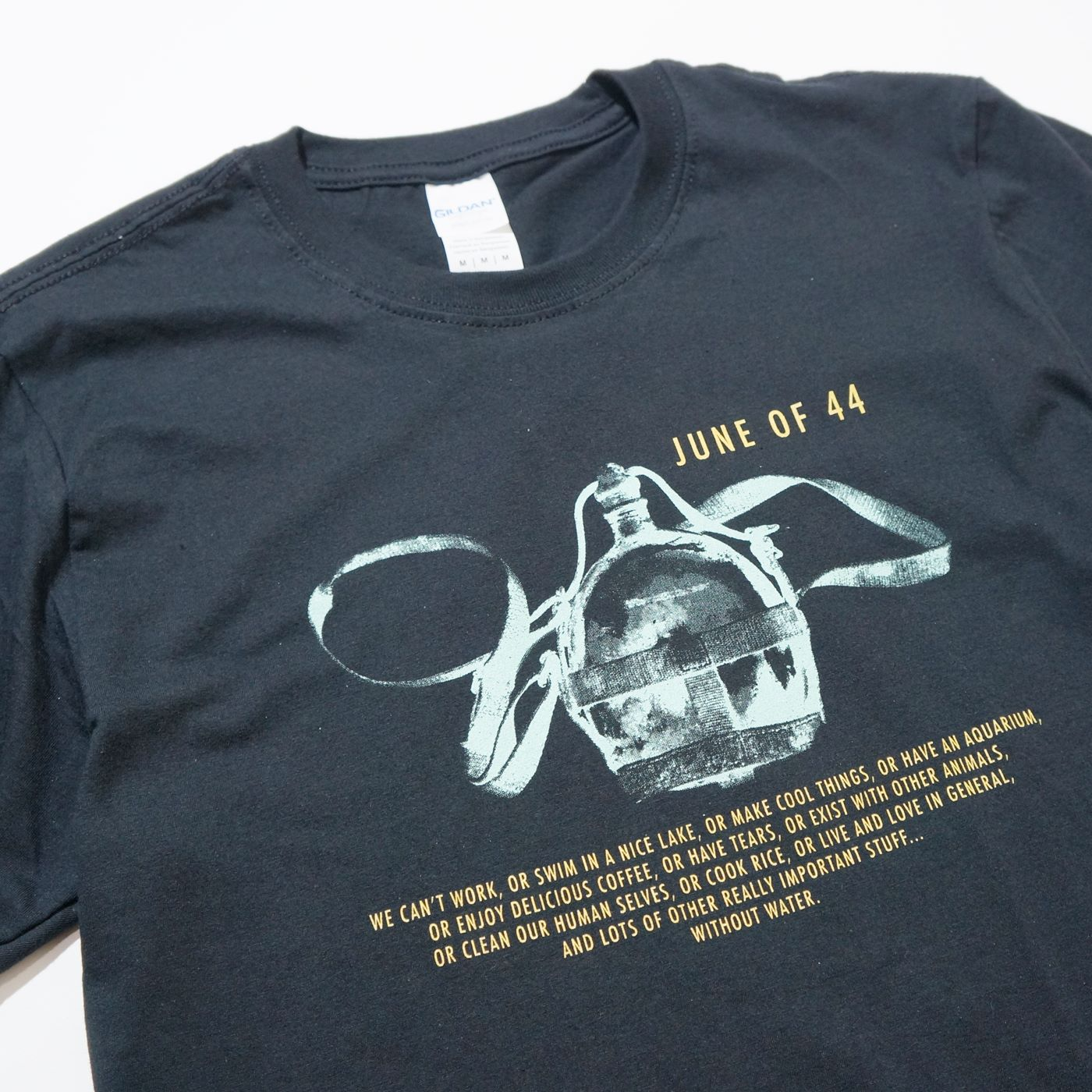 JUNE OF 44 Tシャツ Revisionist-Black