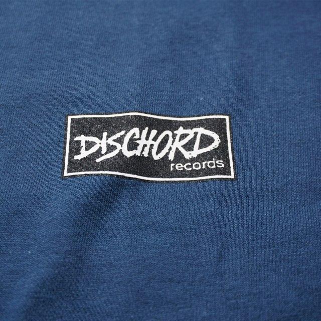 Dischord Records Tシャツ / Box Logo - Blue Dusk
