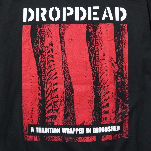 DROPDEAD バンド Tシャツ Tradition-Black