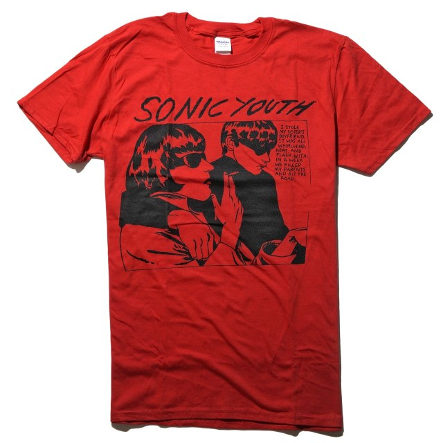 SONIC YOUTH Tシャツ Goo - Red