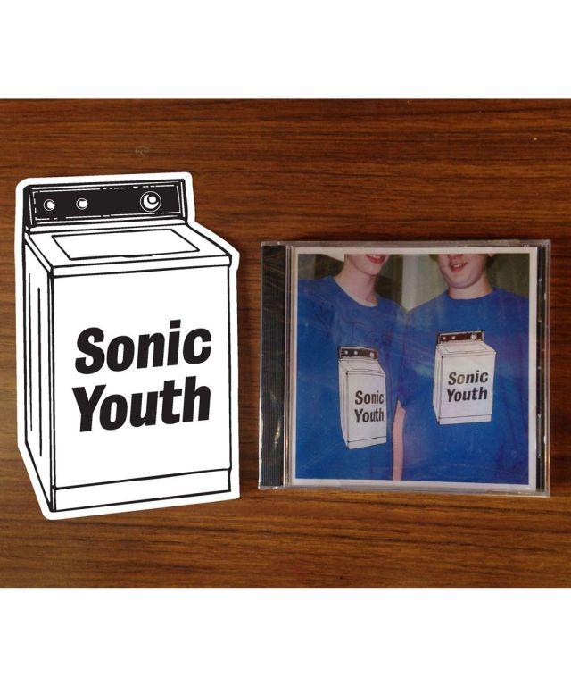 SONIC YOUTH ステッカー /Waching Machine -Jumbo Sticker