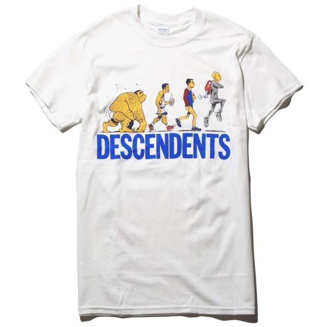 Descendents Tシャツ Ascent Of Man-White