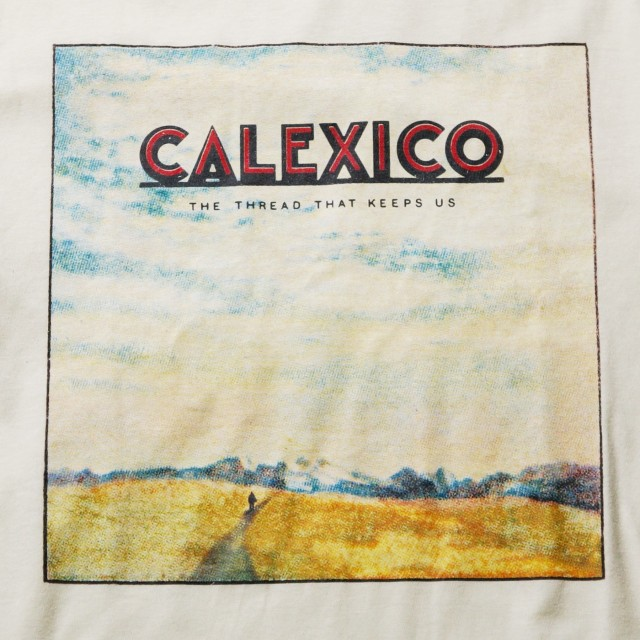 Calexico Tシャツ The Thread That Keeps Us Cover-Natural