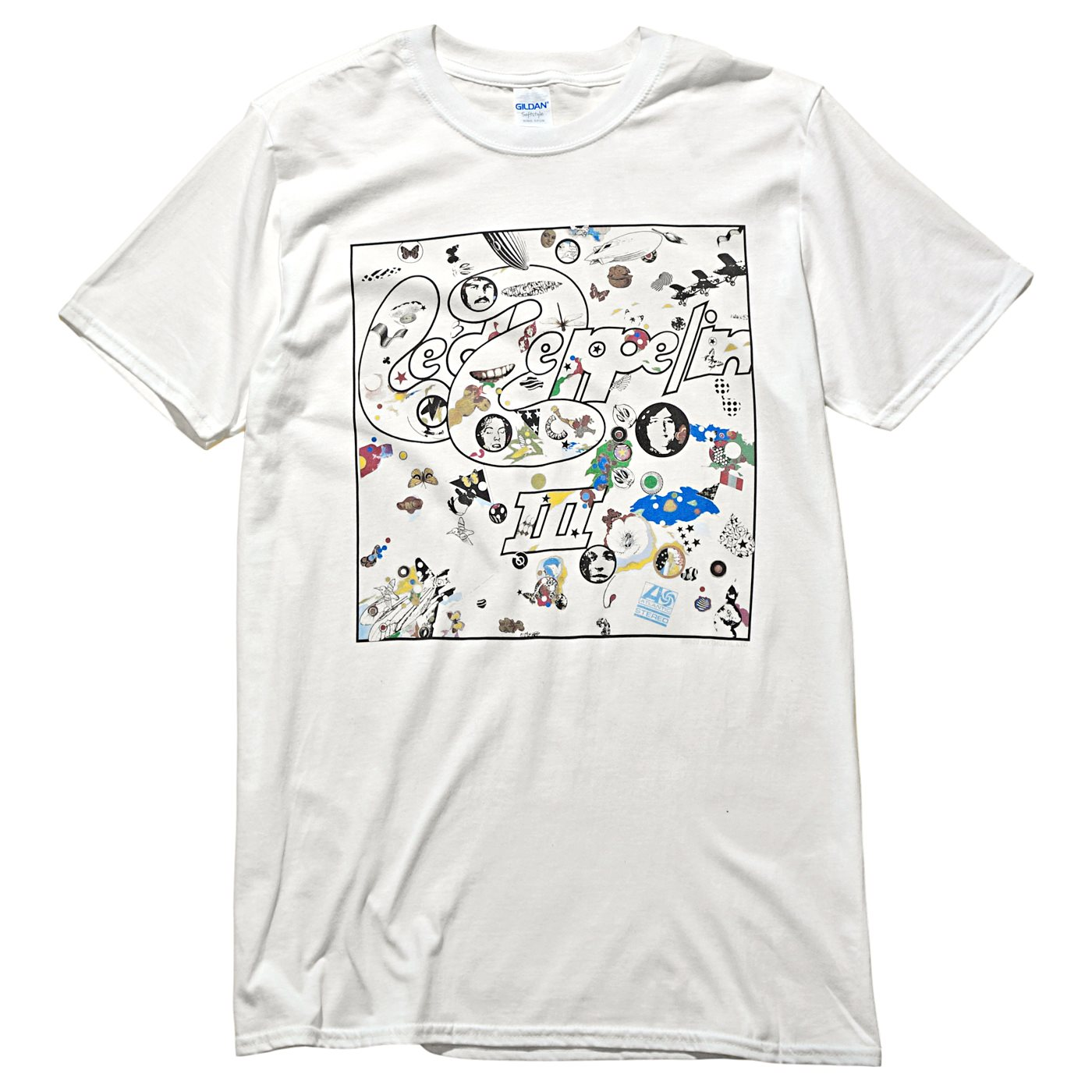 LED ZEPPELIN Tシャツ III Album-White